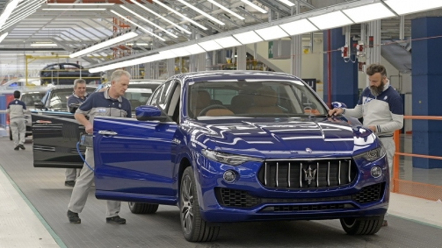 maserati-levante-production-plant